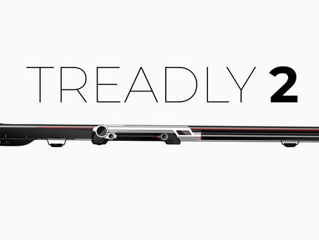 Meet Treadly, The Thinnest Treadmill In The World