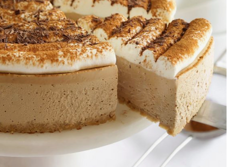 Love Coffee??? Treat Yourself To This No-Bake Cappuccino Cheesecake