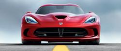 Red Dodge Viper GTS