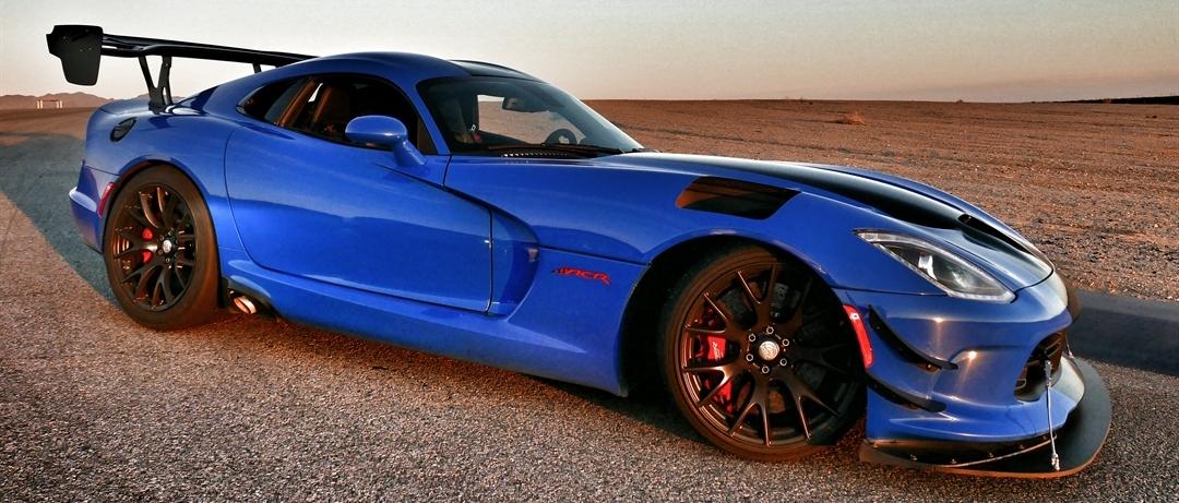 Competition Blue Dodge Viper ACR