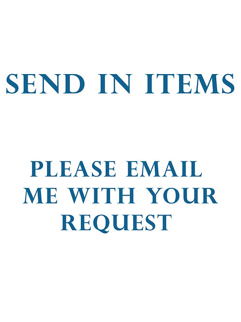 Send in items
