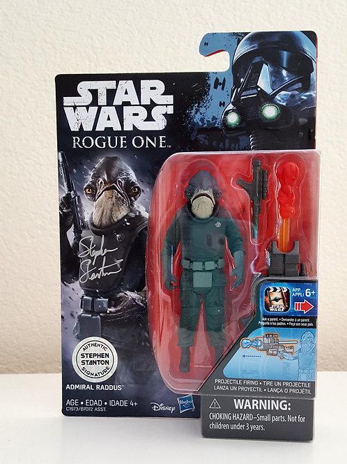 Admiral Raddus figure from Hasbro