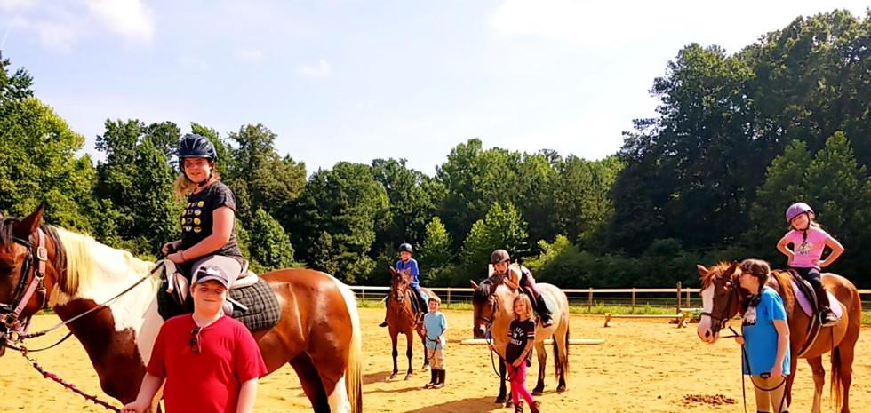 Equestrian Camp Summer 2019