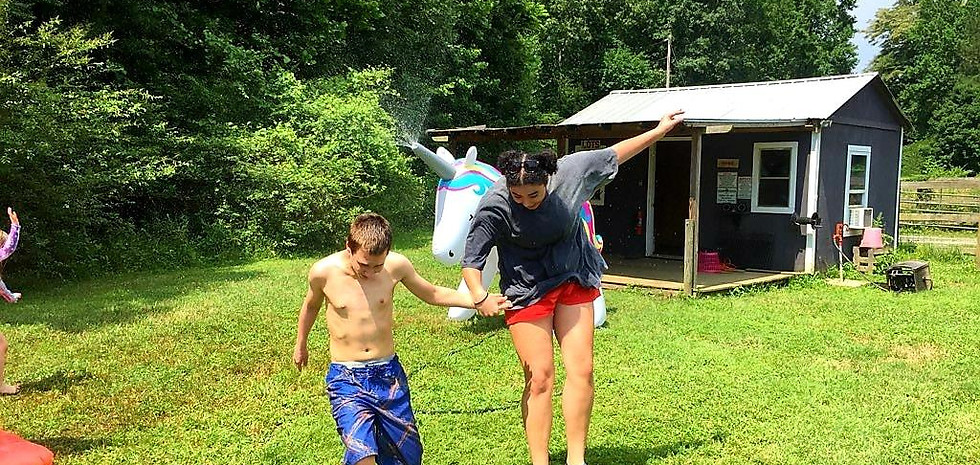 """""""Volunteering as a counselor with Hand, Hoof and Heart is the highlight of my summer."""""""
