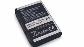Samsung Galaxy i600 i607 i637 i718 1300mAh/4.81WH 3.7V/4.2V Battery