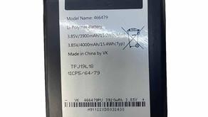 3.85V/4.4V Battery for Wiko View 3 Lite