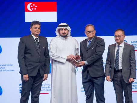 UAESBC Member, Liquinex Group, Wins First Prize in Dubai Global Water Award