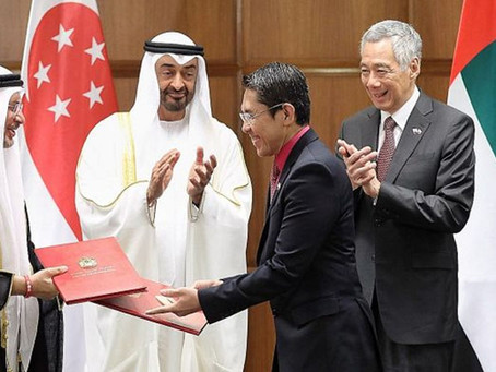 Comprehensive Partnership Joint Declaration Between Singapore and the United Arab Emirates