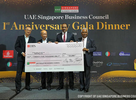 UAE Singapore Business Council First Anniversary Charity Gala Dinner