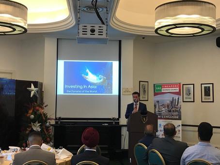 Breakfast Talk by Gareth Nicholson, Bank of Singapore