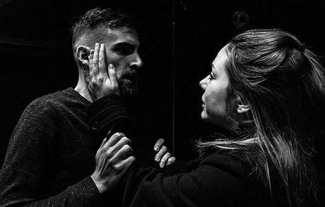 Ophelia in Hamlet(s). Photo: Joseph Hammond