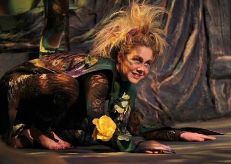 Thorn in Sleeping Beauty. Photo: Agatha Knelsen