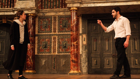 Messenger in Romeo and Juliet. Photo: Andrew H Williams