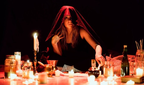Girl/Witch in EGO NOXA. Photo: Matt Westlake