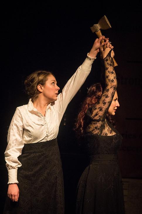 Lizzie in Blood Relations. Photo: Agatha Knelsen
