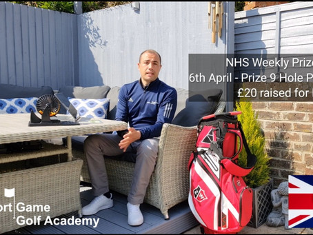 NHS Weekly Raffle Prize Draw 6th April
