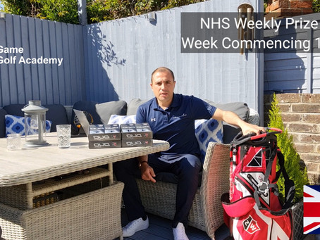 NHS Weekly Raffle Prize Draw 13th April