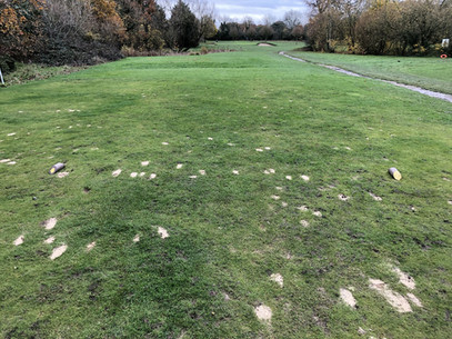 Winter tees in operation from Monday 2nd December.