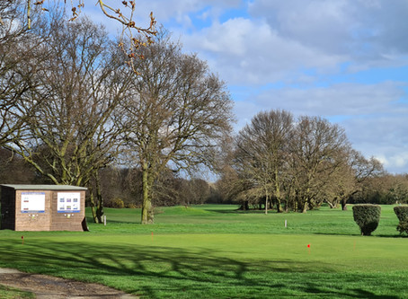 Golf Course Open as of Monday 16th March!