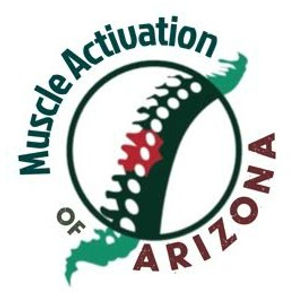 Muscle Activation of Arizona Logo