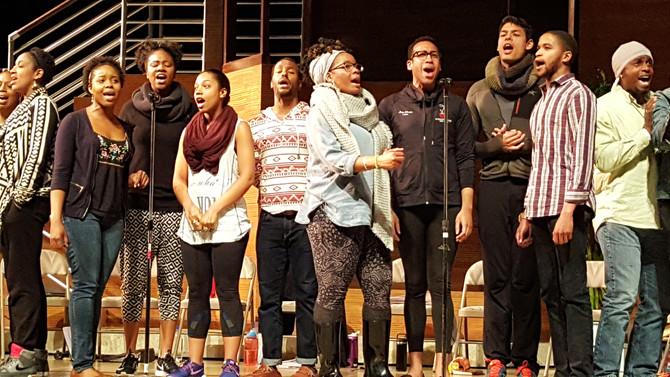 My Heart Is the Drum: Village Theatre Sitzprobe
