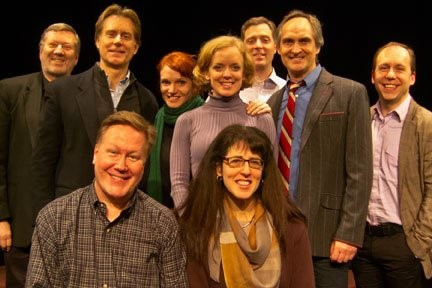 Reading of JINXED at Abingdon Theatre, New York City