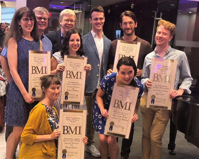 Stacey Luftig wins BMI Jerry Harrington Award for Outstanding Creative Achievement as a Librettist.
