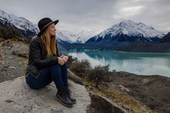 Exploring glaciers in NZ