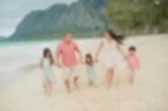 Oahu honolulu Family portrait sessions