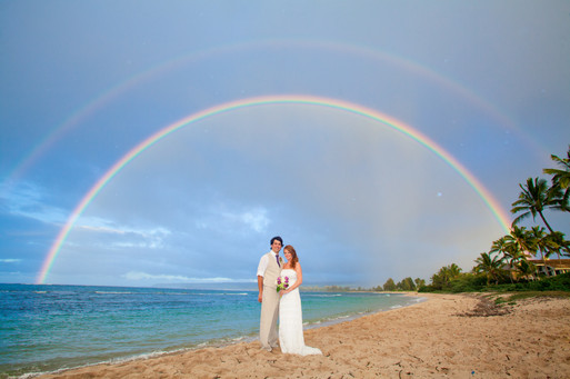 Our wedding day! I think this was mother nature giving us her blessing :) Photocred: the fabulous Chrissy Lambert