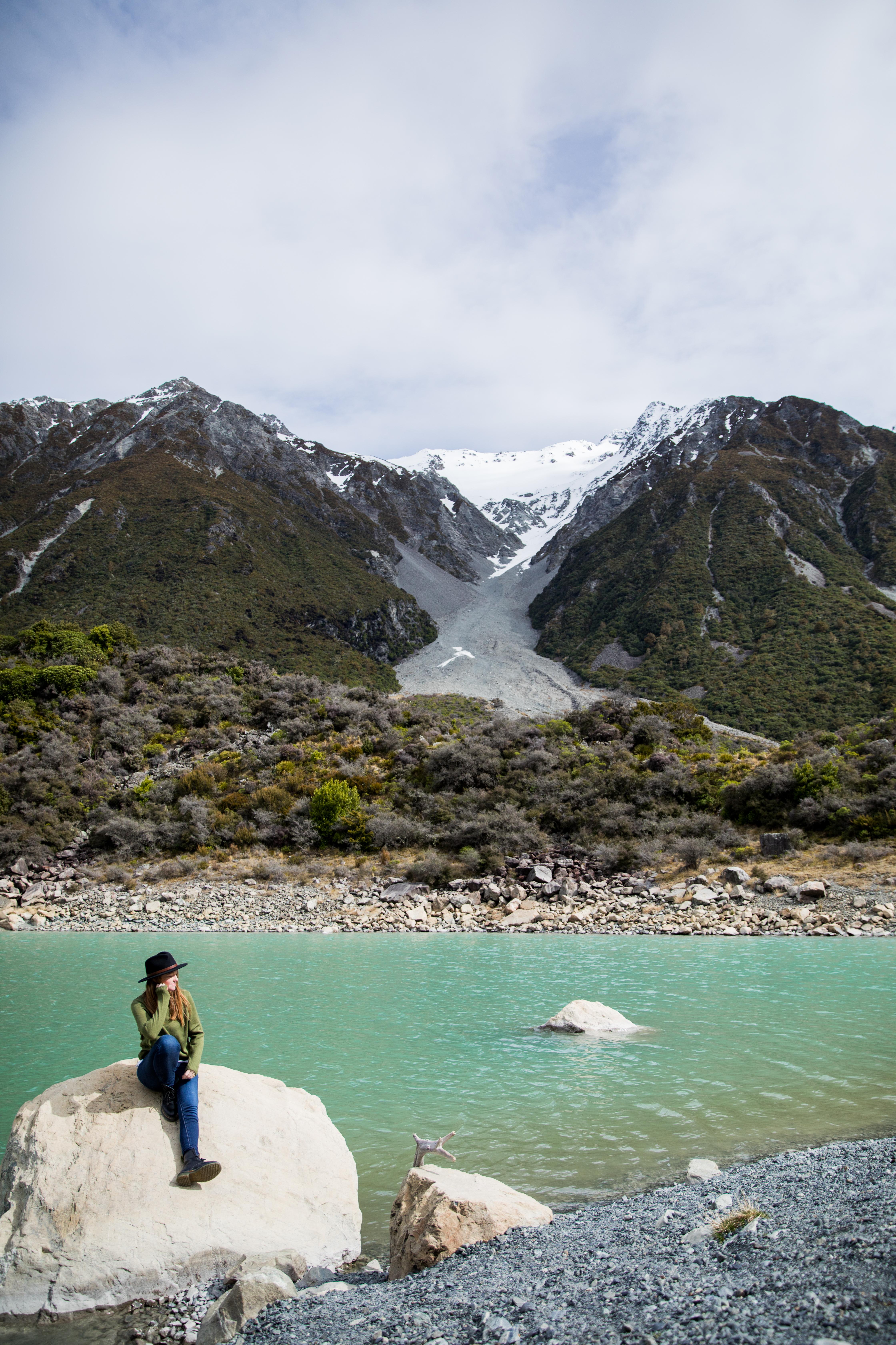 Blue Lakes, New Zealand