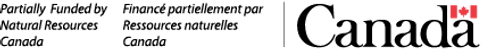 NRCan-RNCan (Partially Funded) Wordmark.