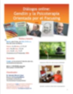 cartel_dialogos_online_Gendlin_2temporad