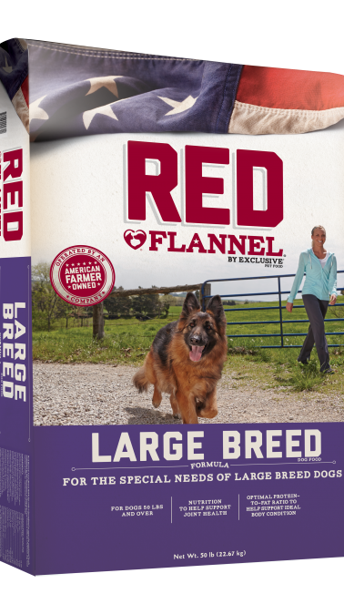 Red Flannel® Large Breed Adult