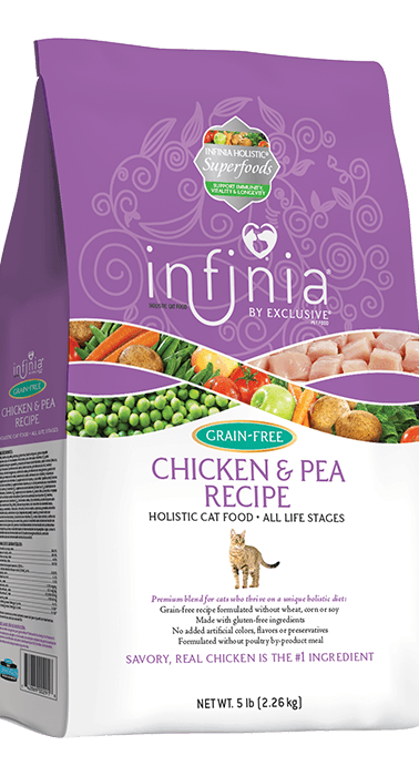 Infinia® Grain-Free Chicken & Pea