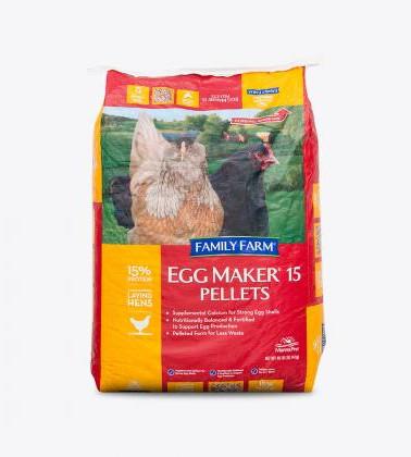 Egg Maker® 15 Pellets