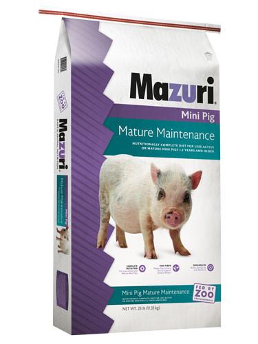 Mazuri® Mini Pig Mature Maintenance
