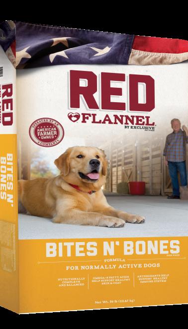 Red Flannel® Bites N' Bones