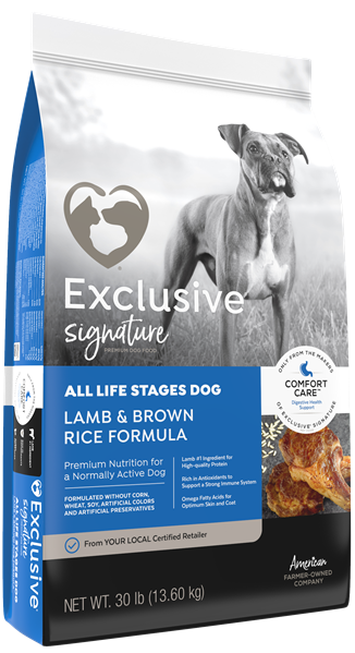 Exclusive® Lamb & Brown Rice