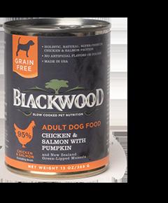 Blackwood Chicken & Salmon with Pumpkin