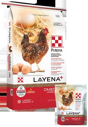Purina® Layena®+ Omega-3