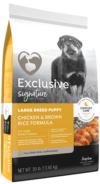 Exclusive® Large Breed Puppy