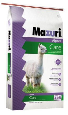 Mazuri® Alpaca Care