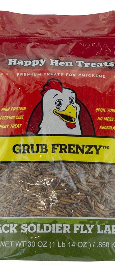 Happy Hen Grub Frenzy