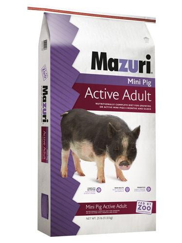 Mazuri® Mini Pig Active Adult
