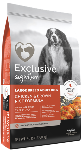 Exclusive® Large Breed Adult