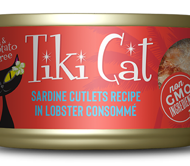 Tiki Cat Sardine Cutlets
