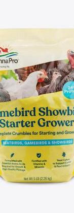 Gamebird Showbird Starter Grower Crumbles