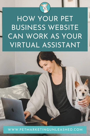 How Your Pet Business Website Can Work As Your Virtual Assistant