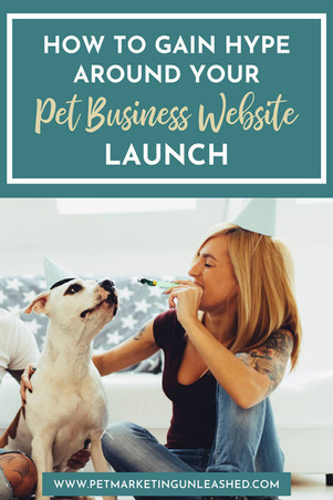 How to Gain Hype Around Your Pet Business Website Launch